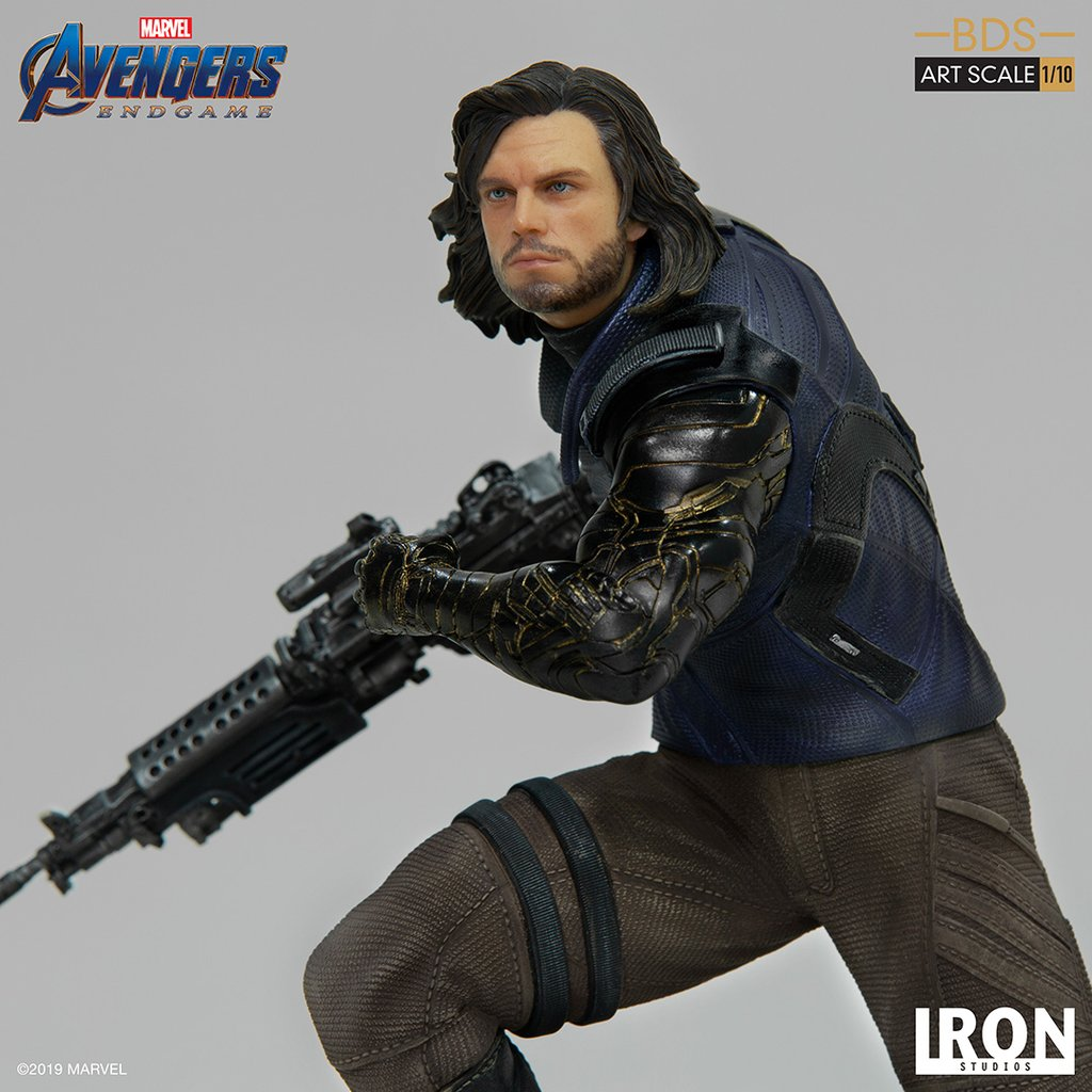 Avengers: Endgame - Winter Soldier BDS Statue by Iron Studios - The