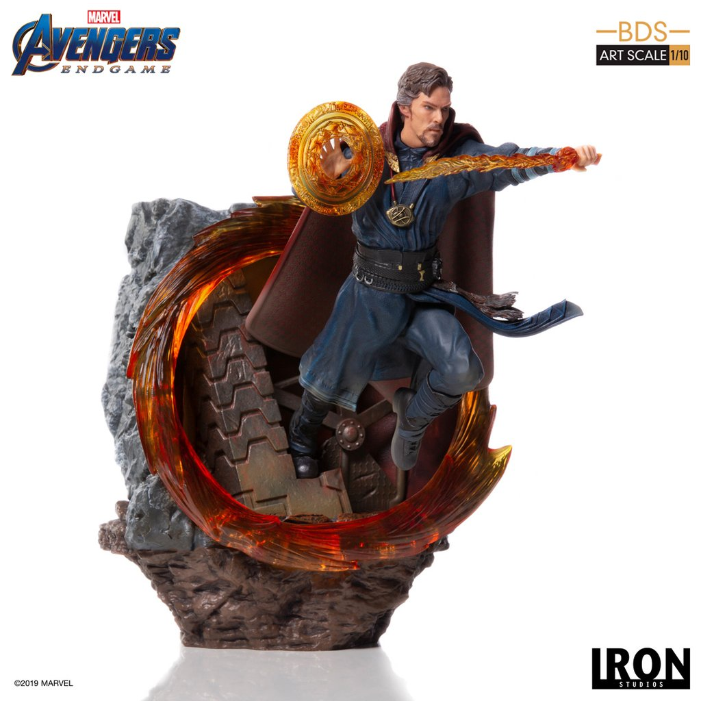 Avengers: Endgame - Star-Lord and Dr  Strange Statues by Iron