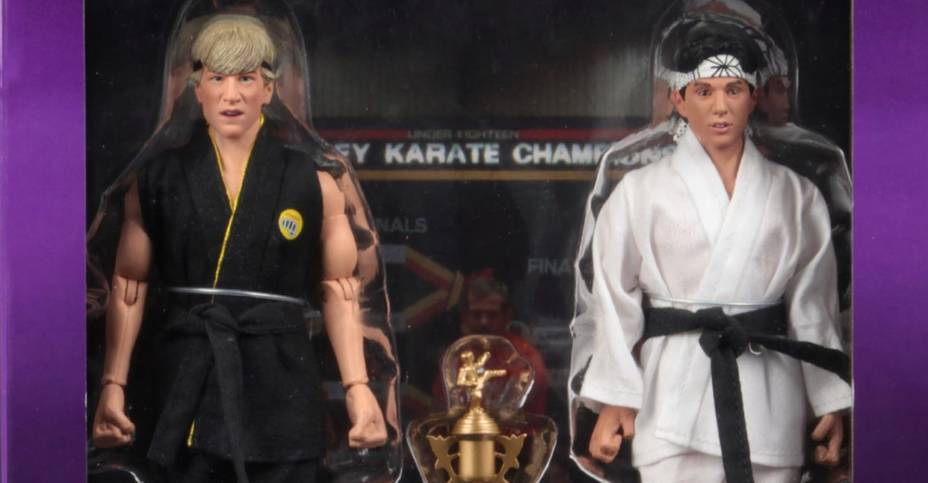 The Karate Kid Tournament 2-Pack Final Packaging from NECA - The