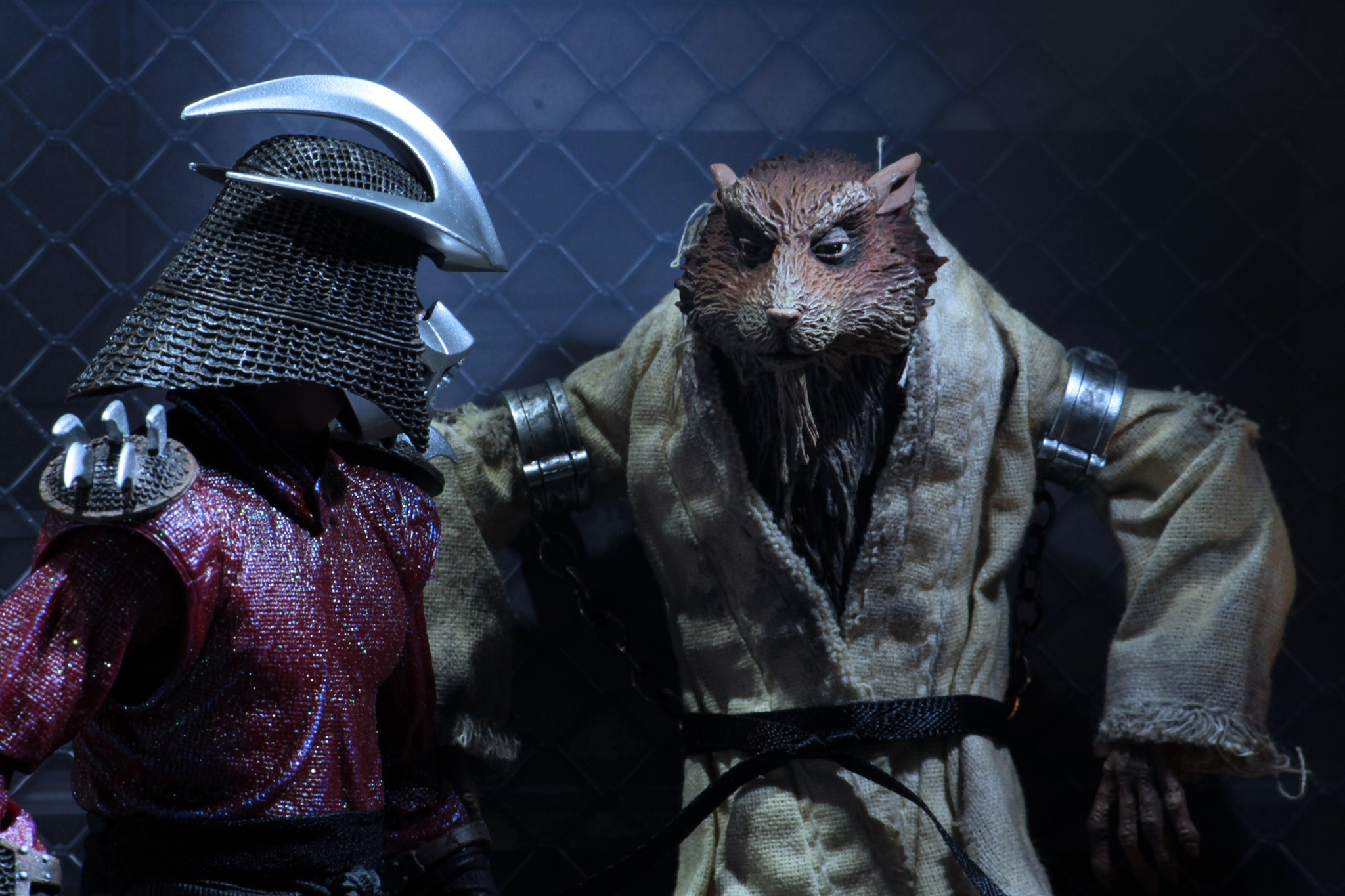Tmnt 1990 Movie The Capture Of Splinter Sdcc 2019 Exclusive Set By Neca The Toyark News