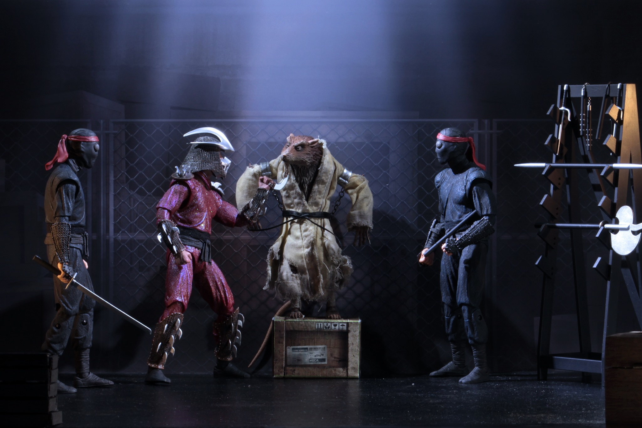 Tmnt 1990 Movie The Capture Of Splinter Sdcc 2019 Exclusive Set
