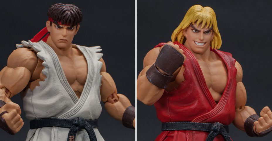 Ultra Street Fighter Ii Ryu And Ken By Storm Collectibles The