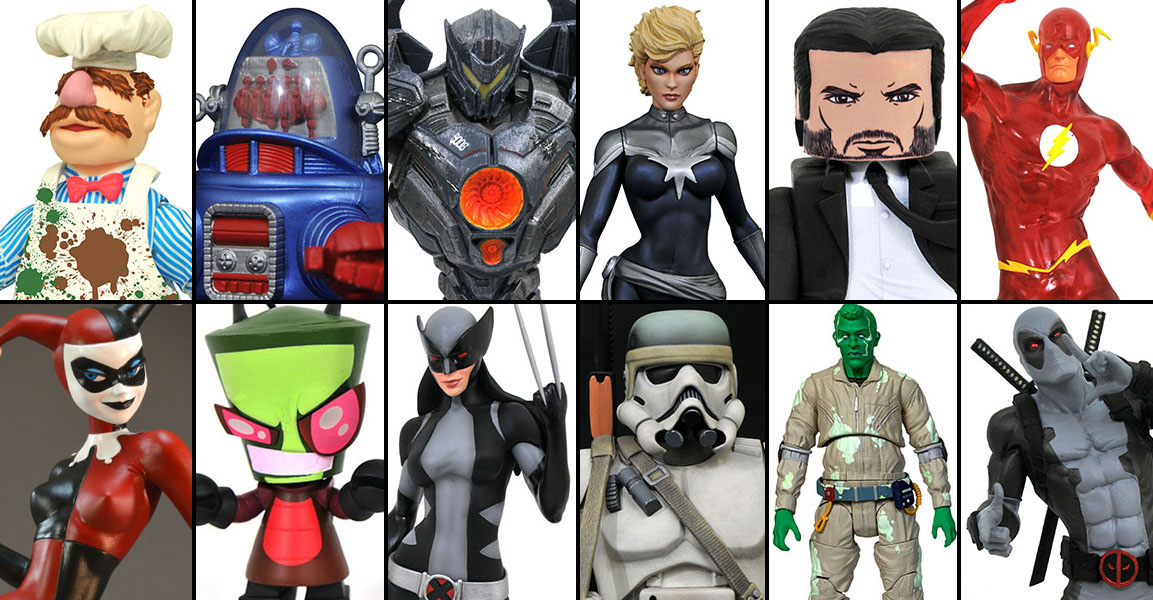 2019 SDCC Diamond Select Exclusives