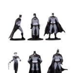 BATMAN BLACK WHITE MINI FIGURES BLIND BAGS WAVE 3