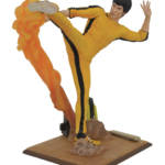 BRUCE LEE GALLERY KICKING PVC FIG