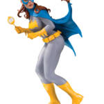 DC COVER GIRLS BATGIRL BY FRANK CHO STATUE