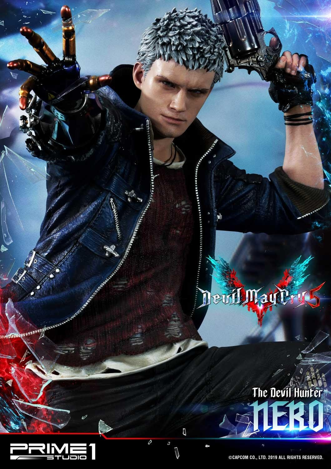 Devil May Cry 5 - Nero Statue By Prime 1 Studio