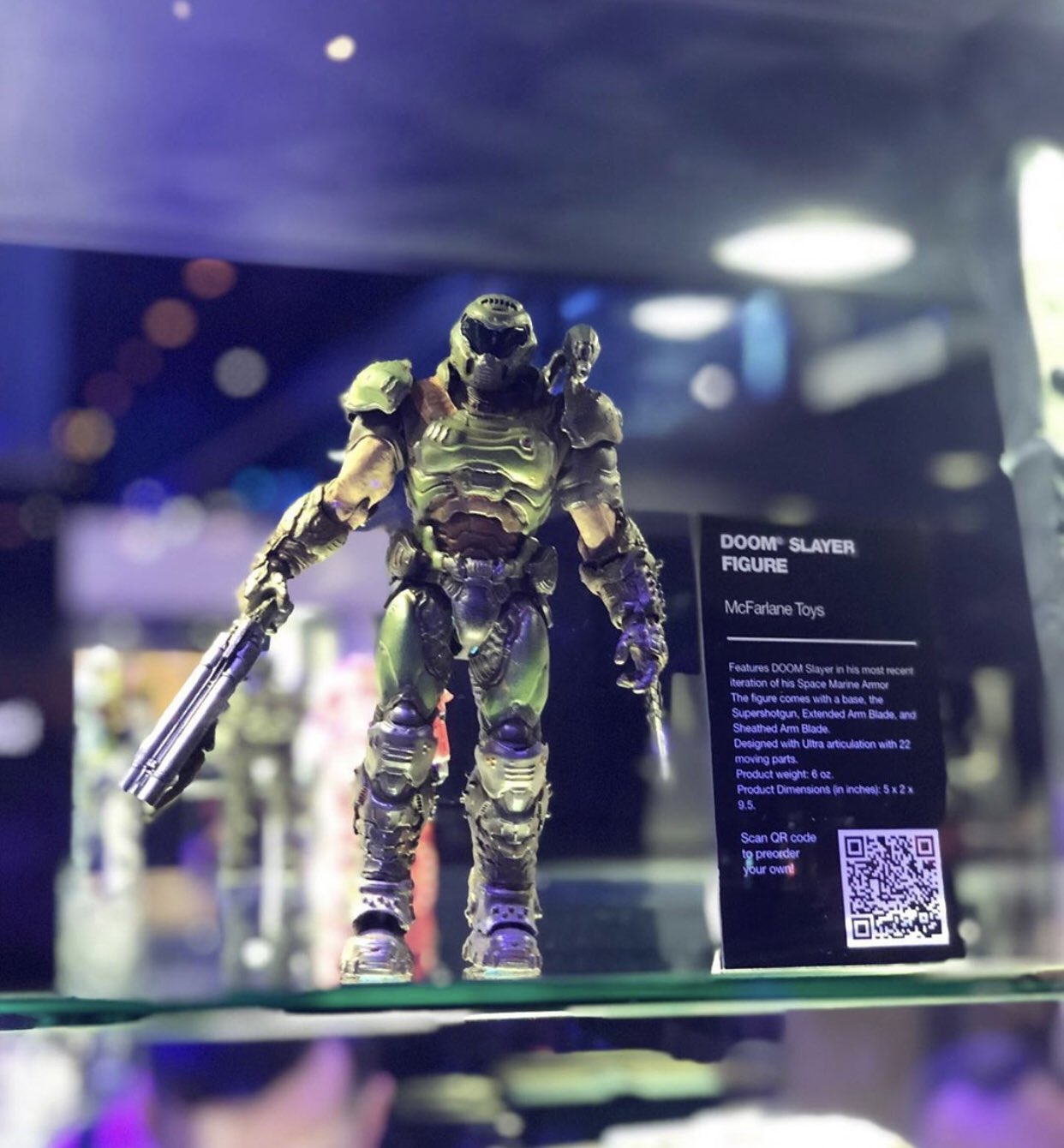 E3 McFarlane Doom Slayer