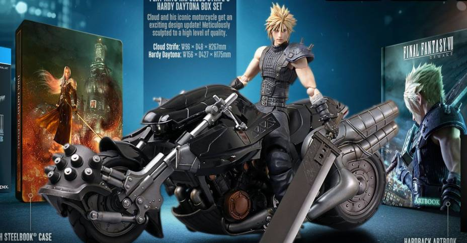 Final Fantasy 7 Remake - 1st Class Edition with Play Arts