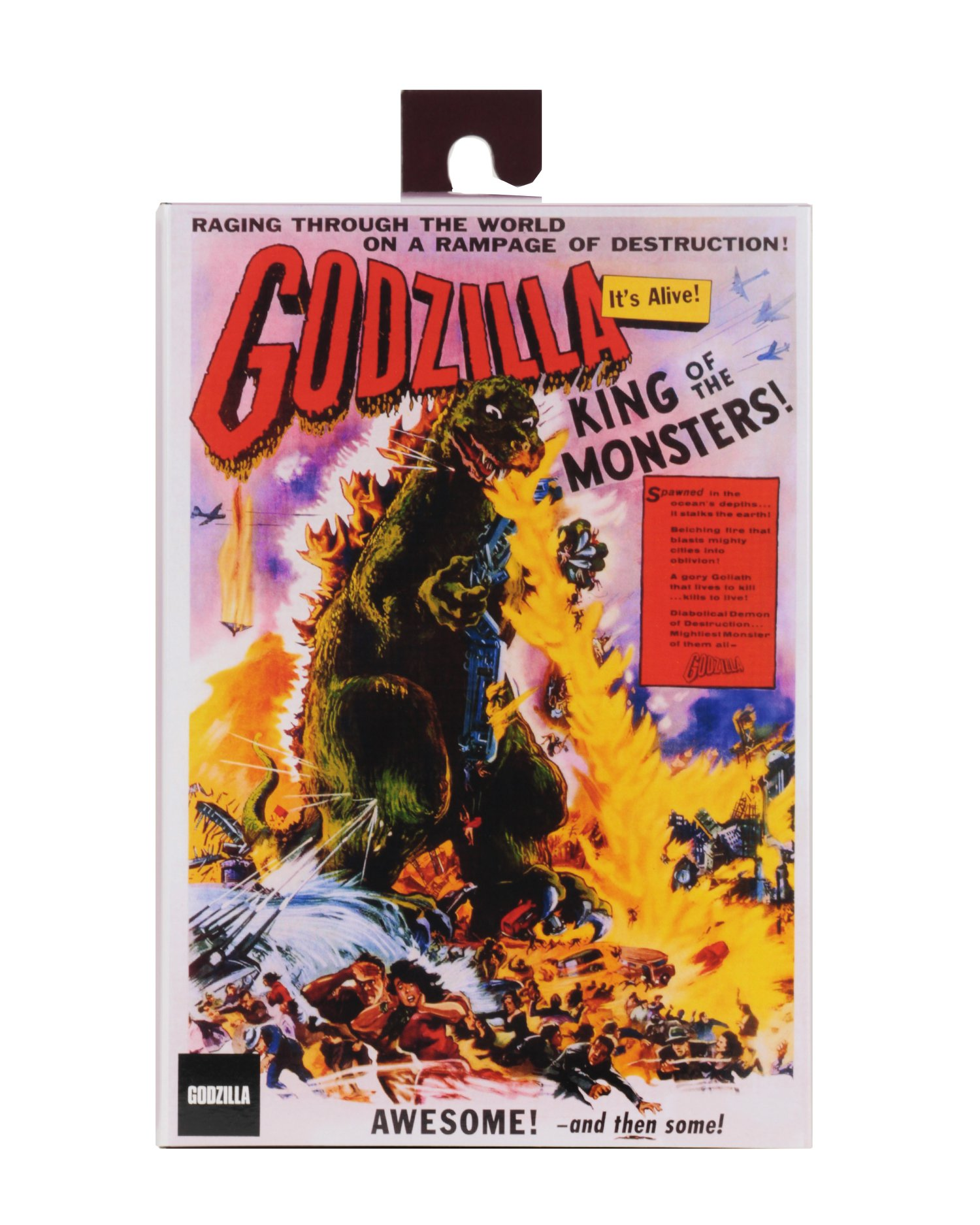 Godzilla Movie Poster Version 001