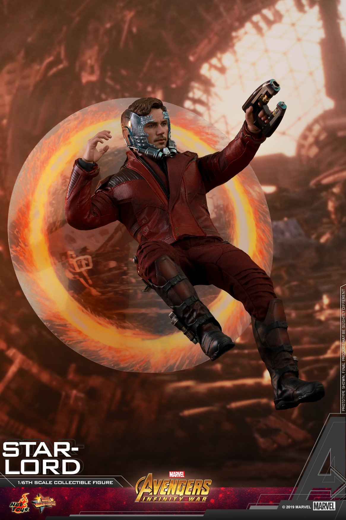 Avengers: Infinity War - Star-Lord Figure by Hot Toys - The