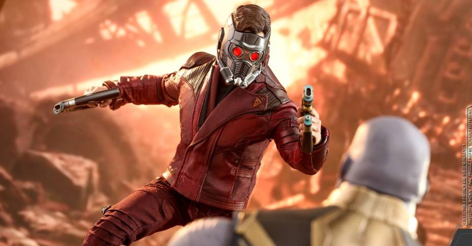 Hot Toys Infinity War Star Lord 014