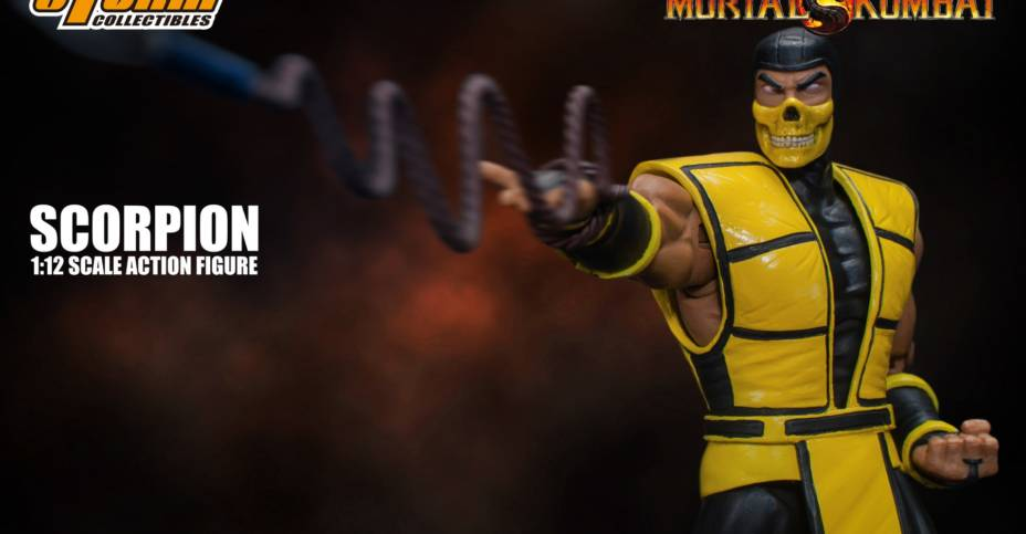 Mortal Kombat 3 Scorpion Figure Photos And Info By Storm