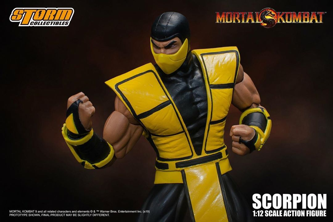 Mortal Kombat 3 - Scorpion Figure Preview by Storm