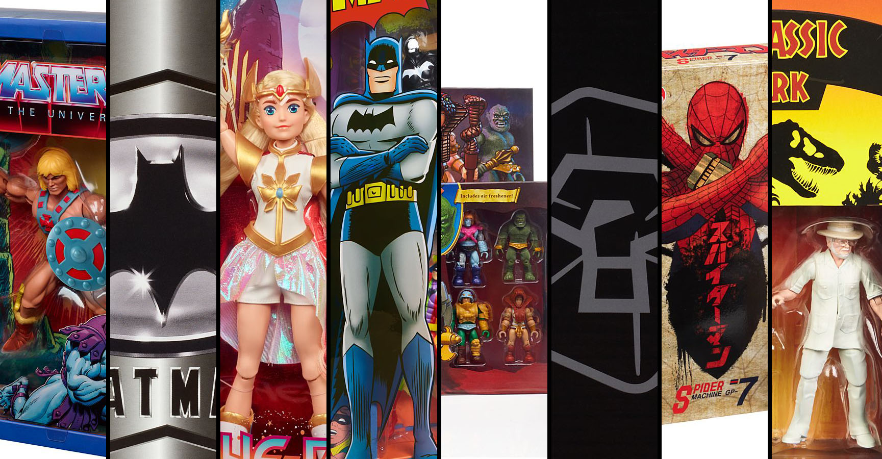 Mattel SDCC 2019 Exclusives
