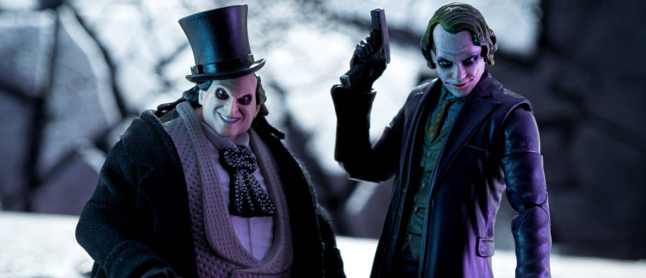 Penguin and Joker DC Comics Multiverse Signature Collection Gallery