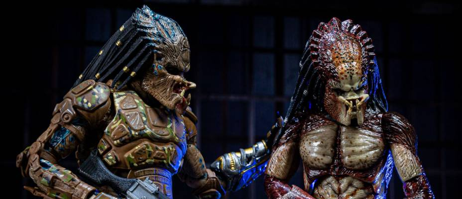 The Predator - Lab Escape Fugitive Predator and Emissary Predator II - Toyark Photo Shoot