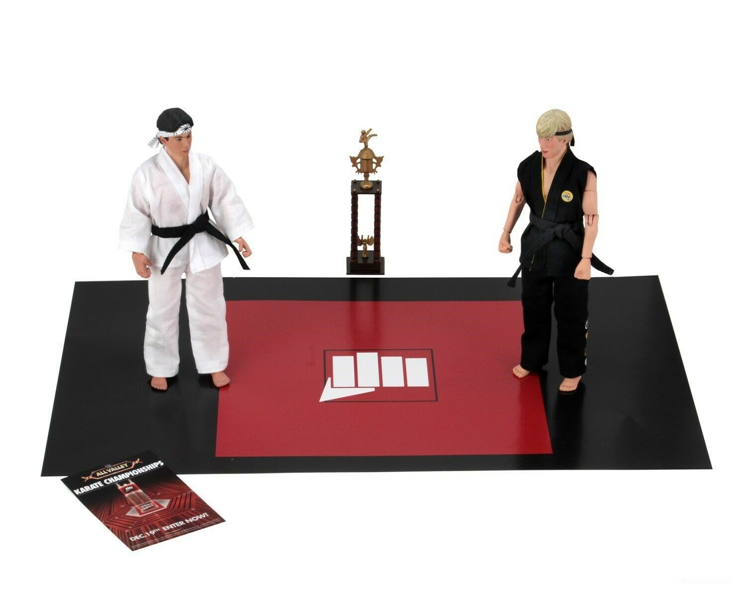 NECA Karate Kid Tournament Set 005