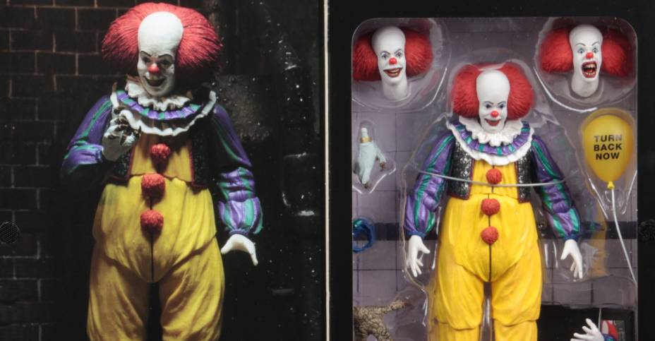 NECA Pennywise 1990 V2 Packaging 004