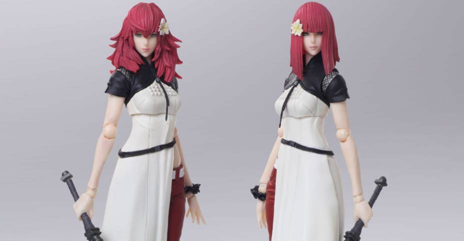 NieR Automata Devola and Popola Bring Arts 001