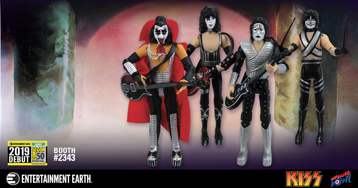 SDCC 2019 KISS Love Gun Set 001