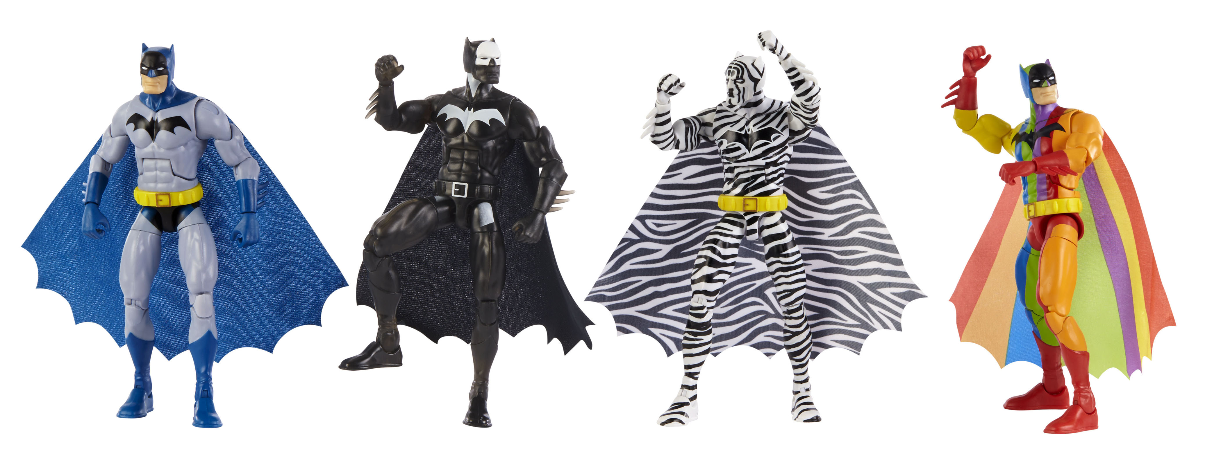 SDCC 2019 Exclusive Batman Figures And Hot Wheels From