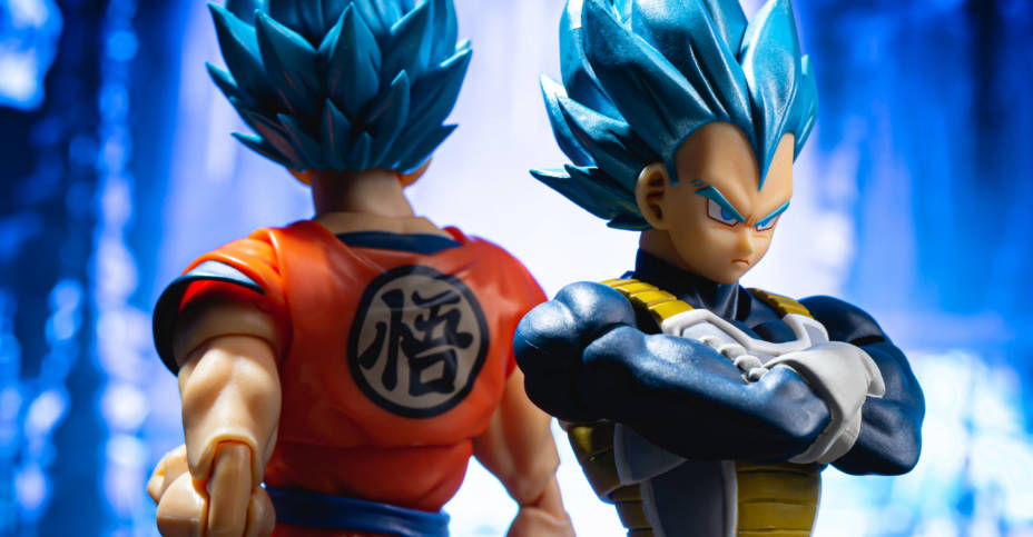 Ssgss Vegeta S H Figuarts Dragonball Super Broly Movie In Hand