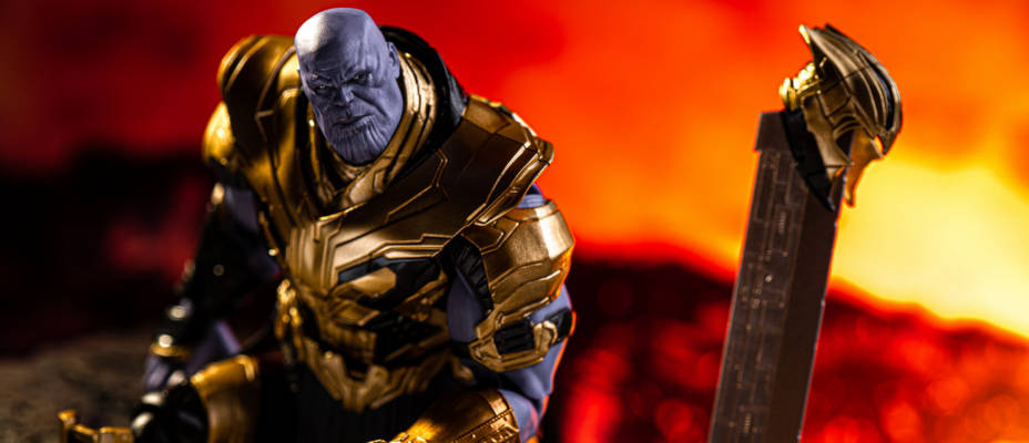 S.H. Figuarts Avengers Endgame Thanos Gallery