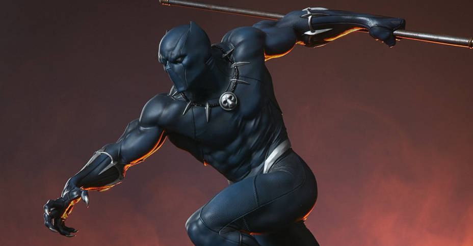Sideshow Black Panther Statue 002