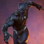 Sideshow Black Panther Statue 005