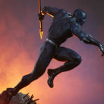 Sideshow Black Panther Statue 006