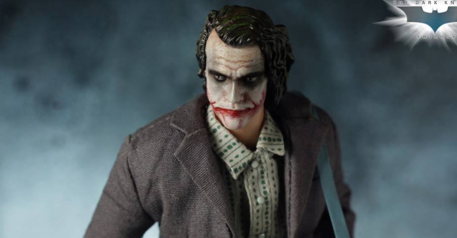 No Figure Joker Movie Outfit Set for Mezco Joker