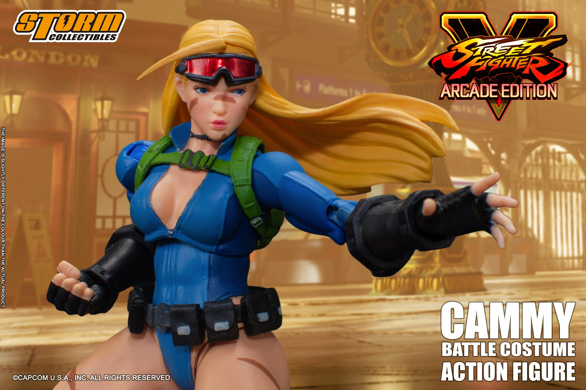 Storm Battle Costume Cammy