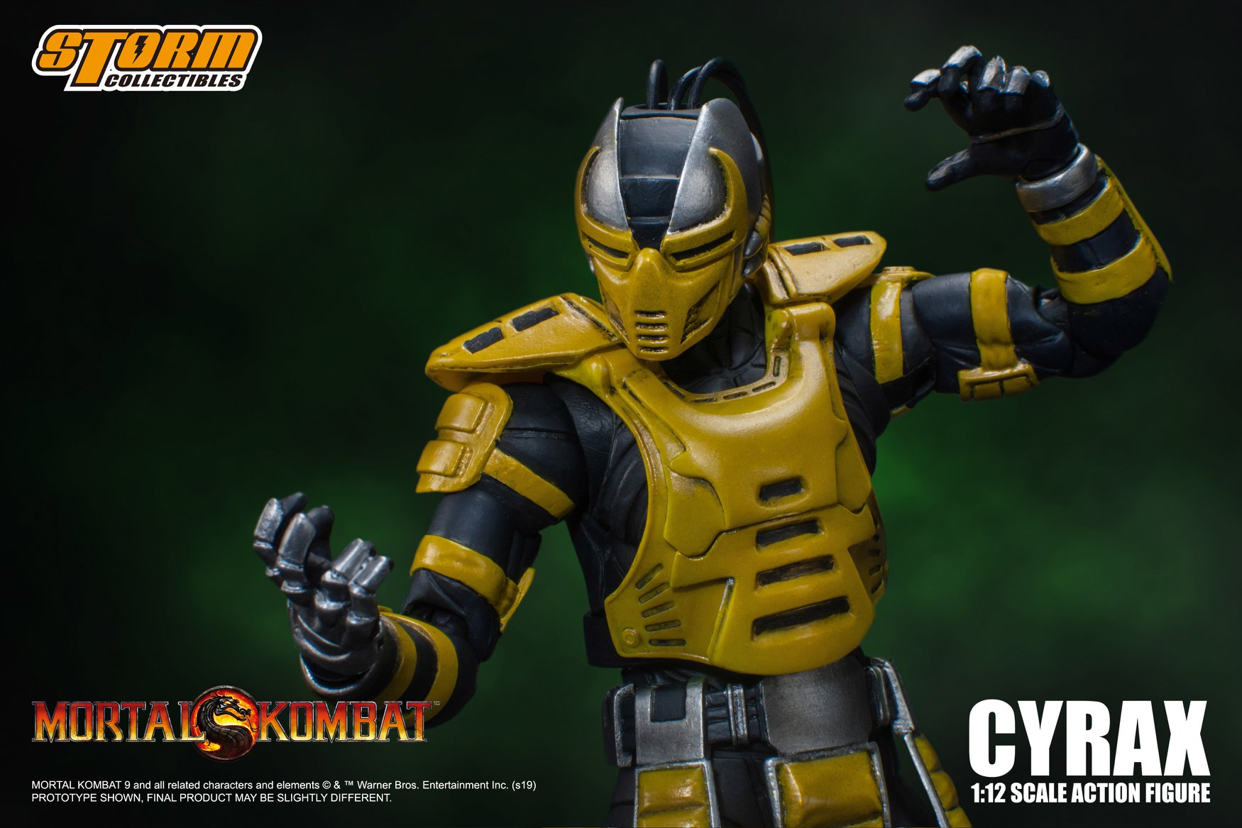 Full Details And Photos For The Mortal Kombat Cyrax Figure By Storm Collectibles The Toyark News Cyrax was one of the new cyborg ninja which were introduced in mortal kombat 3. mortal kombat cyrax figure
