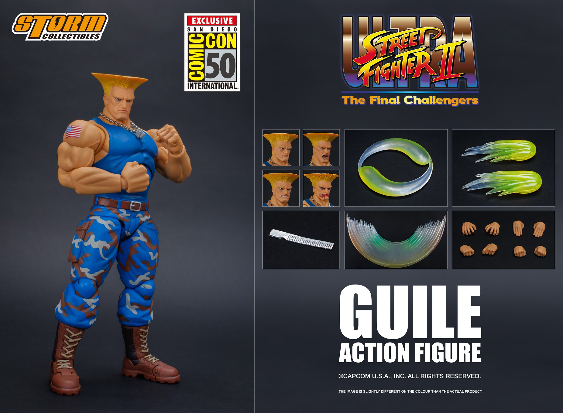 Storm SDCC 2019 Street Fighter Guile