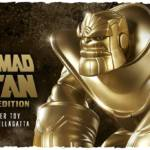The Mad Titan Gold Edition Designer Toy
