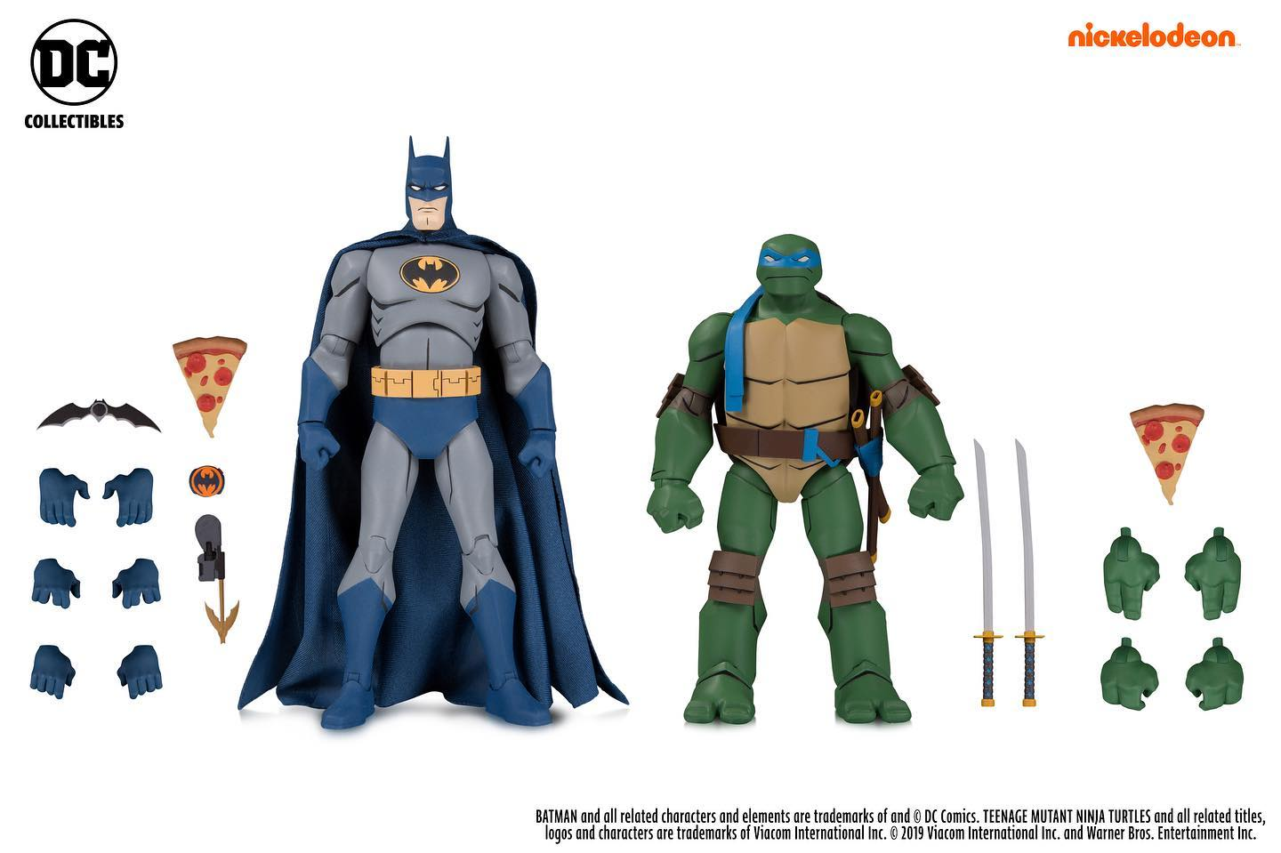 Batman vs TMNT Leo and Batman
