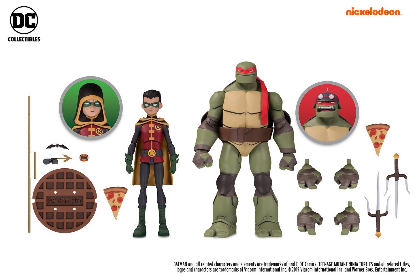 Batman vs TMNT Raph and Robin