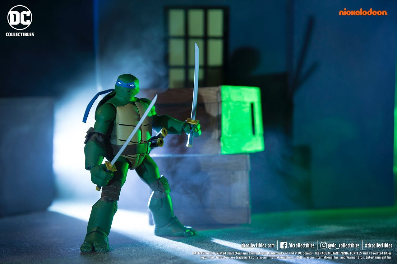 New Photos Of The Batman Vs Tmnt Figures By Dc Collectibles The Toyark News