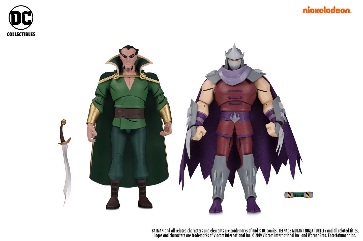 Batman vs TMNT Shredder and Ras al Ghul