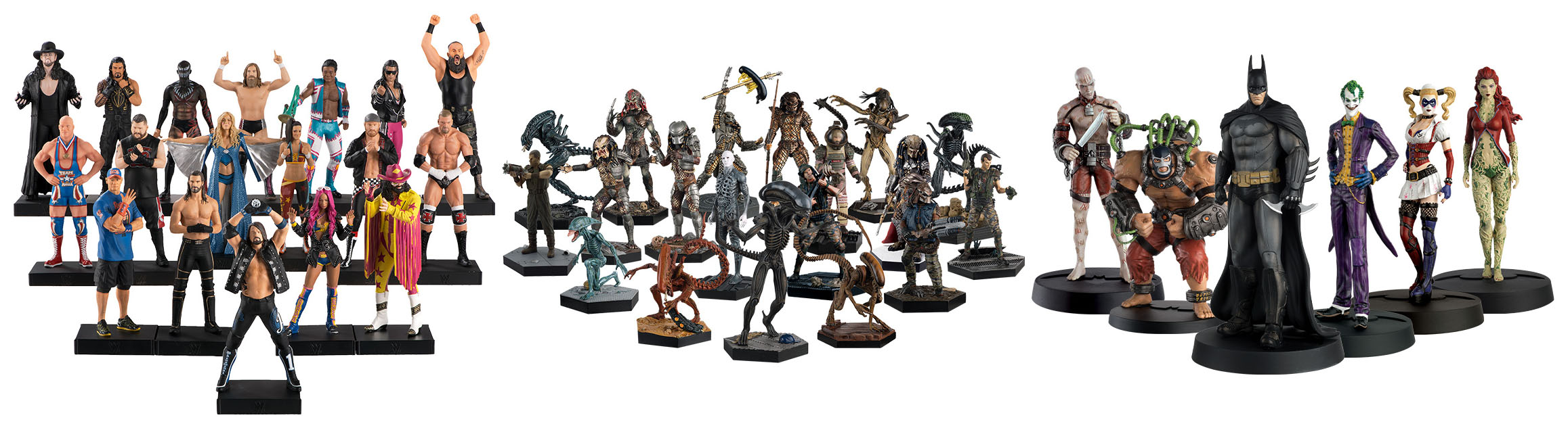 Eaglemoss Hero Collector Statues