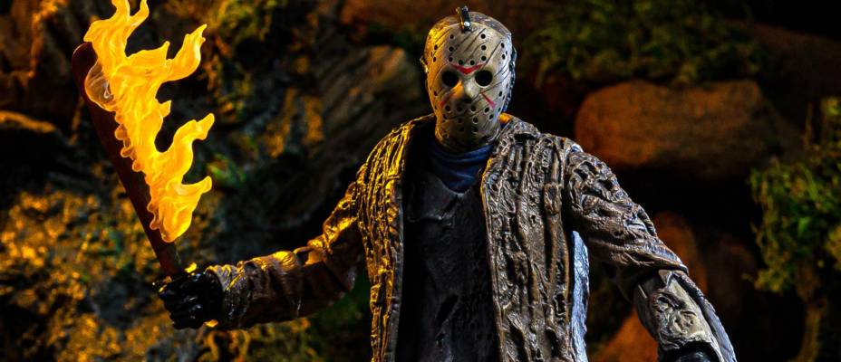 Freddy vs Jason - Ultimate Jason Voorhees Figure by NECA - Toyark Photo Shoot