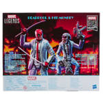 HASBRO MARVEL LEGENDS SERIES 80TH ANNIVERSARY 6 INCH DEADPOOL HIT MONKEY 2 PACKpckging