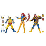 HASBRO MARVEL X MEN LEGENDS SERIES 3 pack oop