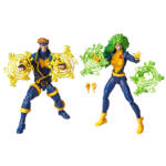 HASBRO MARVEL X MEN LEGENDS SERIES 6 INCH HAVOK POLARIS 2 Pack oop