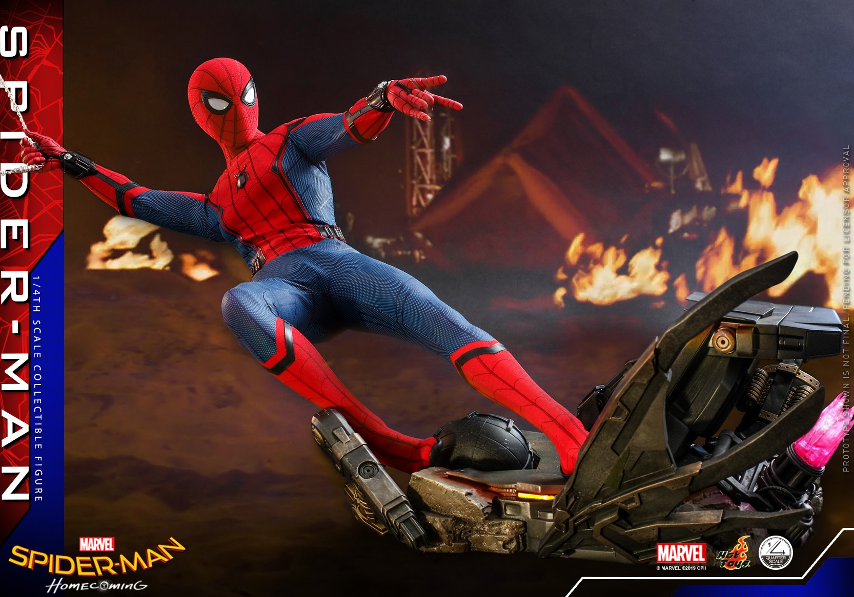 Homecoming Quarter Scale Spider Man 002