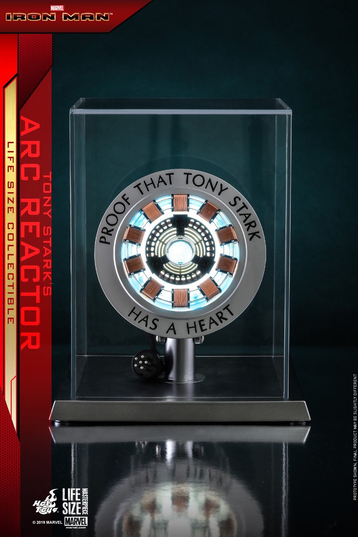Iron Man - Tony Stark's Arc Reactor Life Size Collectible by