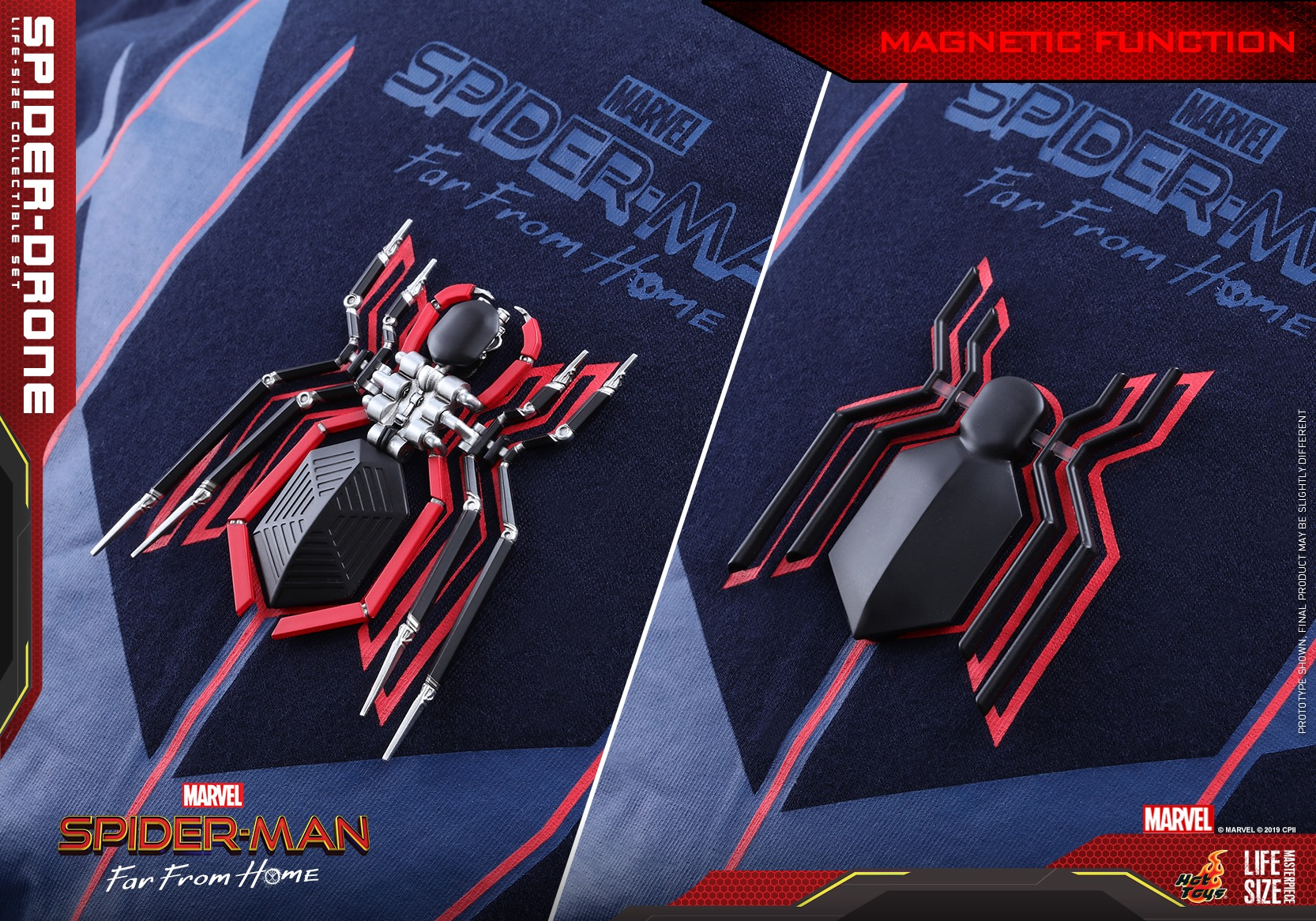Hot Toys Spider Drone Set 001