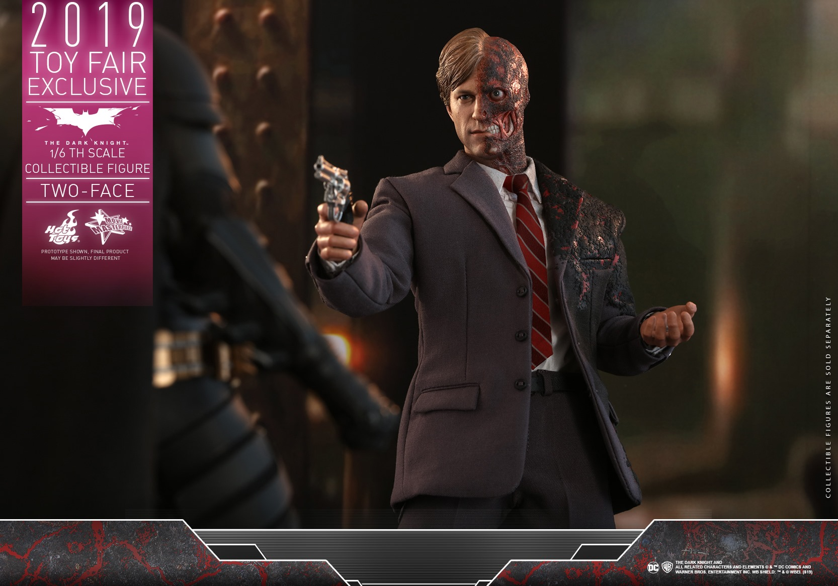 Hot Toys TDK Two Face 007