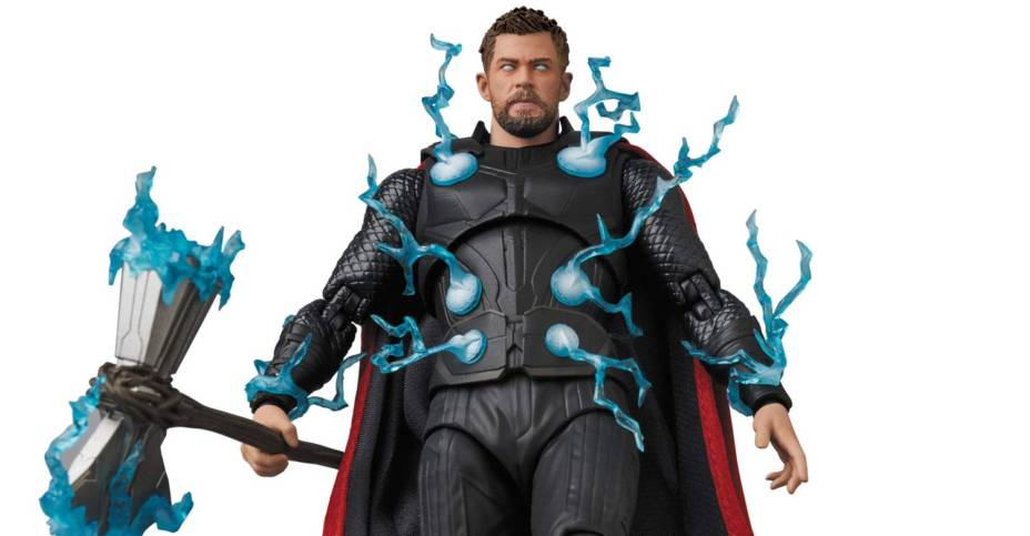 Infinity War Thor MAFEX 003